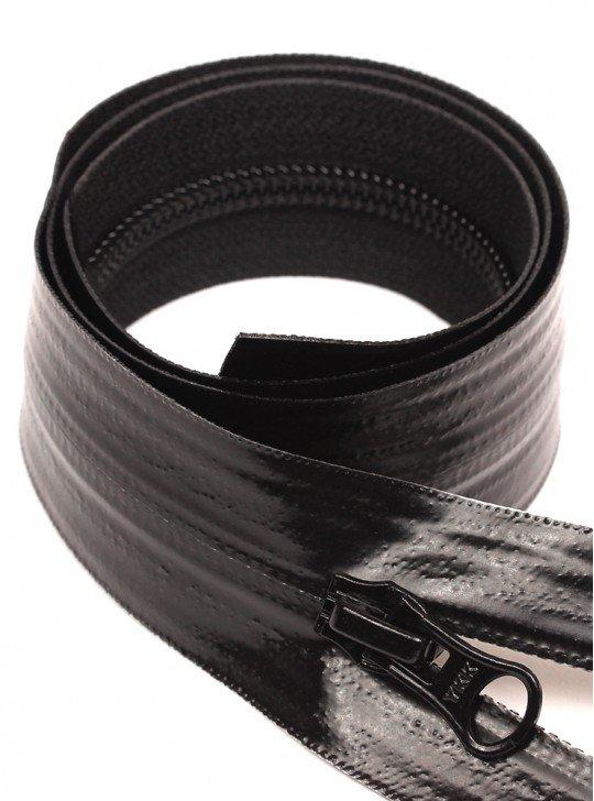 УКК Спиральная водоотталкивающая молния | Цвет: Черный | Звено: 5 Мм | Длина: 90 См