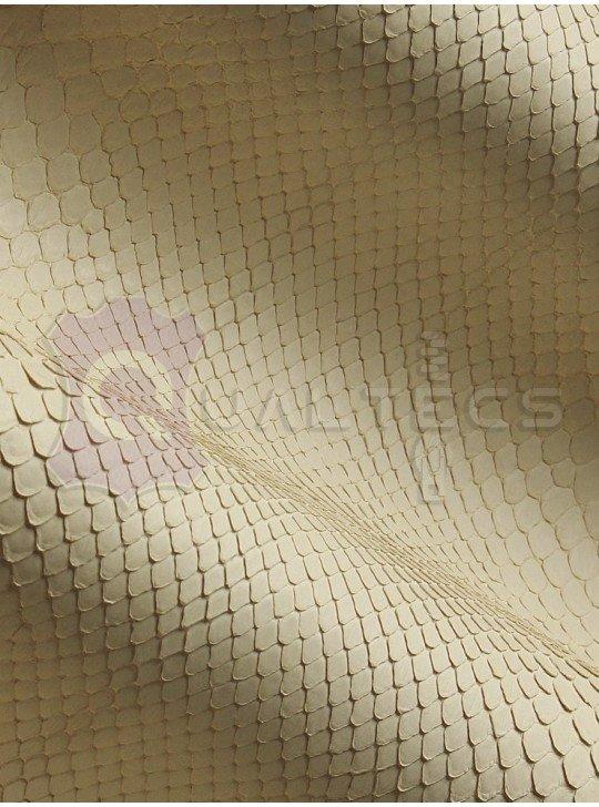 genuine leather Python Curtis | Color: White (Milk)