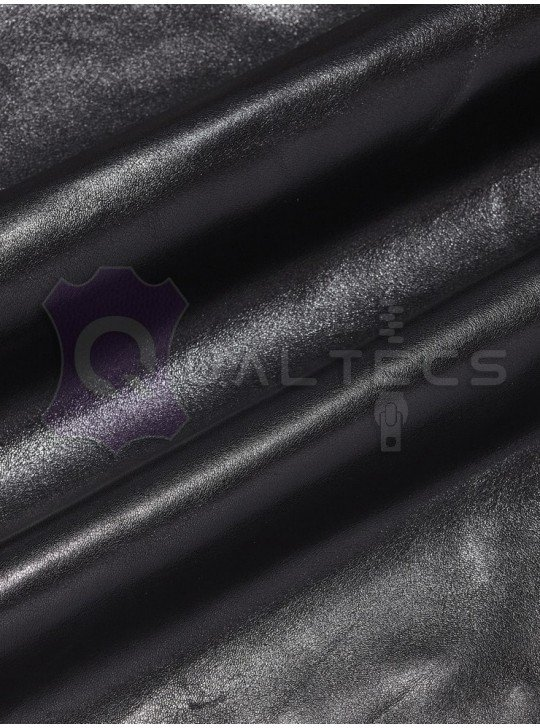 Leather garment nappa Italy | Color: black
