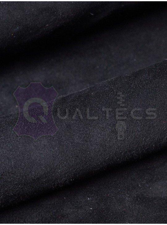 замш одежный на овчине   Цвет: черный 49