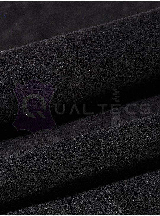 замш одежный на овчине | Цвет: черный 58