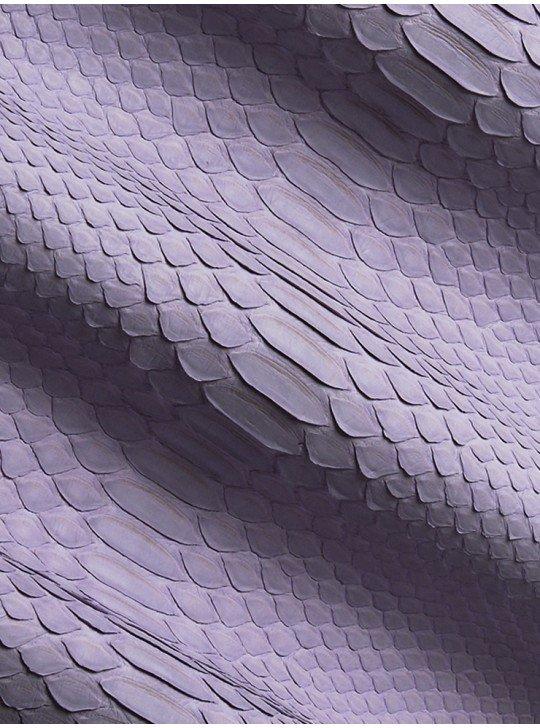 genuine leather Python Curtis Lavender  Color: Lavender