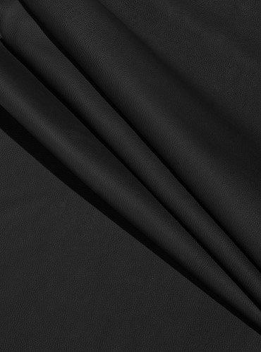Кожа Флотар для обуви и сумок | Цвет: черный матовый